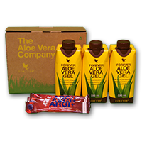 Tri pack Aloë Vera gel mini 3 ARGI+
