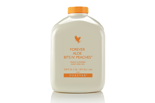 Forever Aloë Vera Bits 'N Peaches | Fitlifestyle Angelique